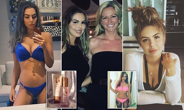 Michelle Mone's daughter is set to make £2million for tanning gummies