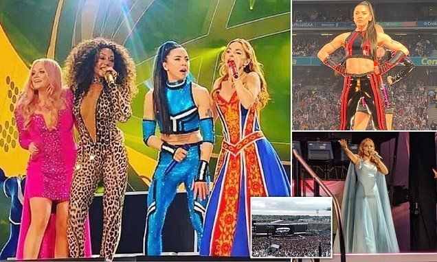 Spice Girls reunion tour: Geri Horner pays homage to Union Jack dress