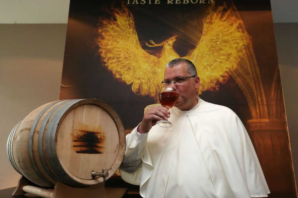 Belgian monks resurrect brewery 200 years after French raid