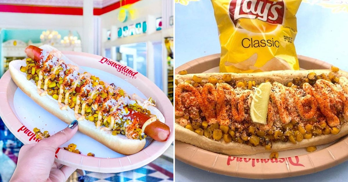 There's an Elote Hot Dog at Disneyland and the Reviews Are . . . Mixed