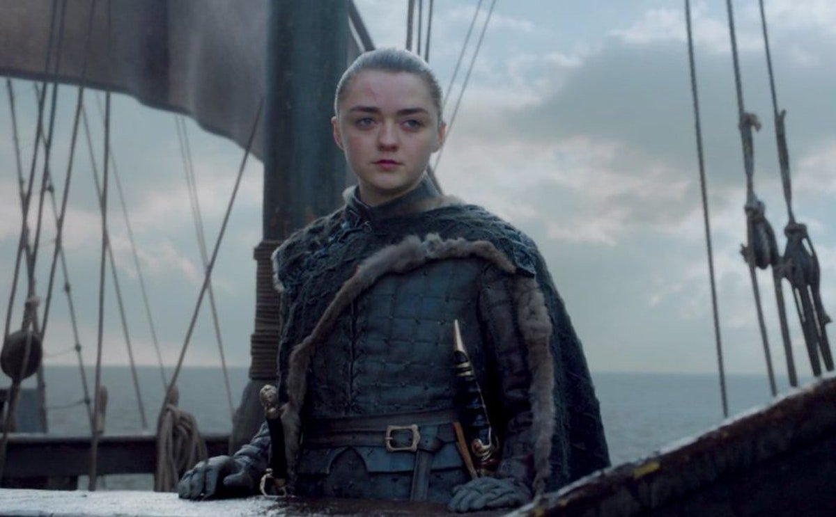 What's West Of Westeros On 'Game Of Thrones'? Let's Break Down Arya's Final Moment