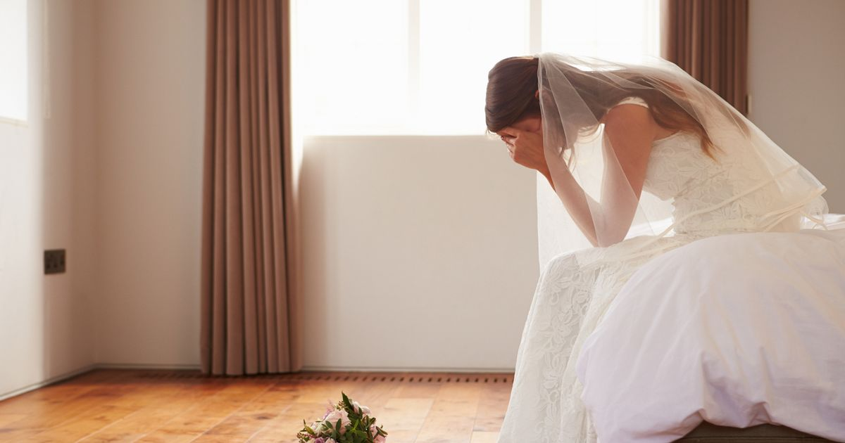 Five words no bride ever wants to hear on her wedding day