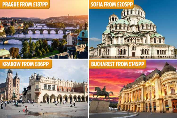 Cheap city breaks where the pound is strong – from Sofia to Bucharest