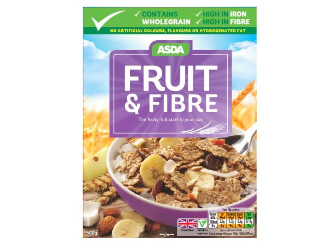 Asda recalls own-brand fruit and fibre cereal because it may contain PLASTIC – The Sun