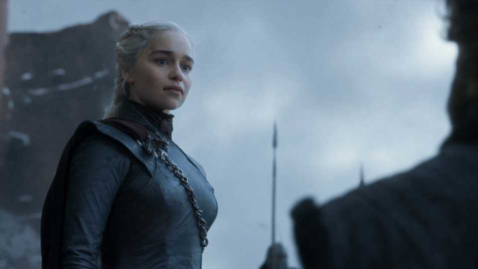 """Emilia Clarke On Dany's Final Moments: """"Never Saw That Coming"""""""