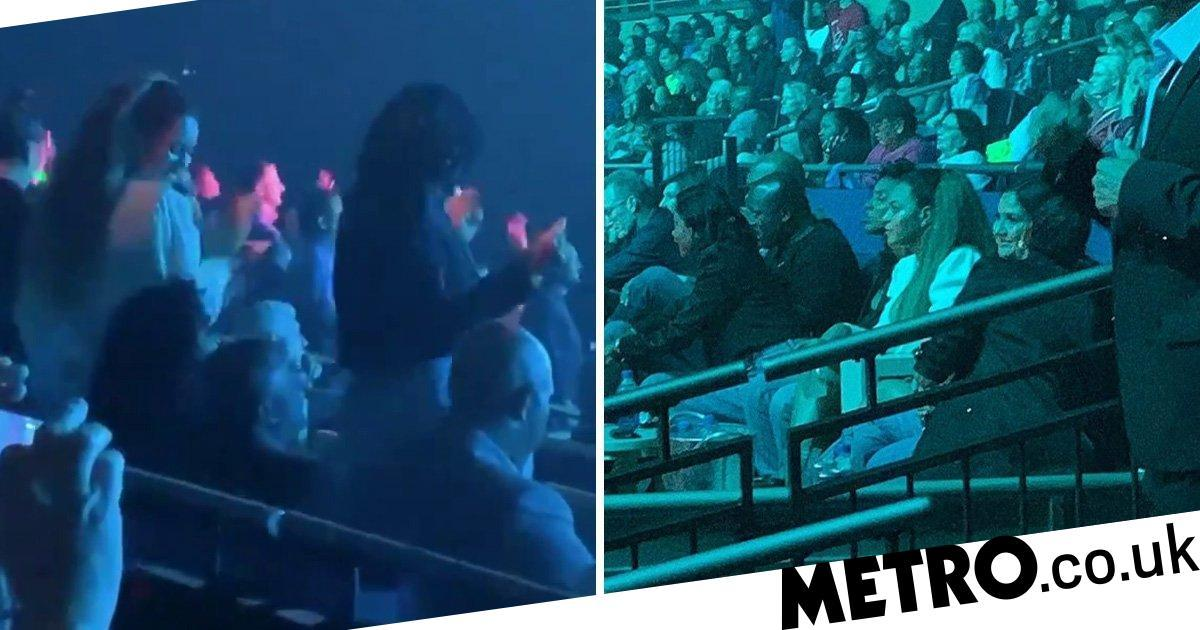 Beyonce and Kelly Rowland dance the night away at Janet Jackson's show