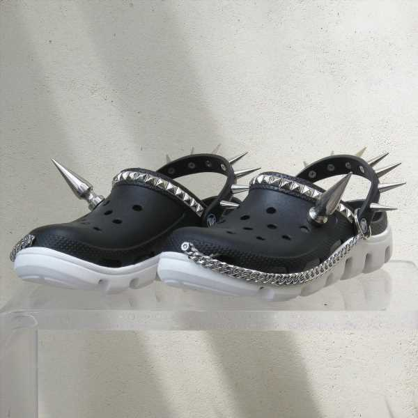 Goth Crocs Exist & They'll Bring Out Your Inner Emo Kid