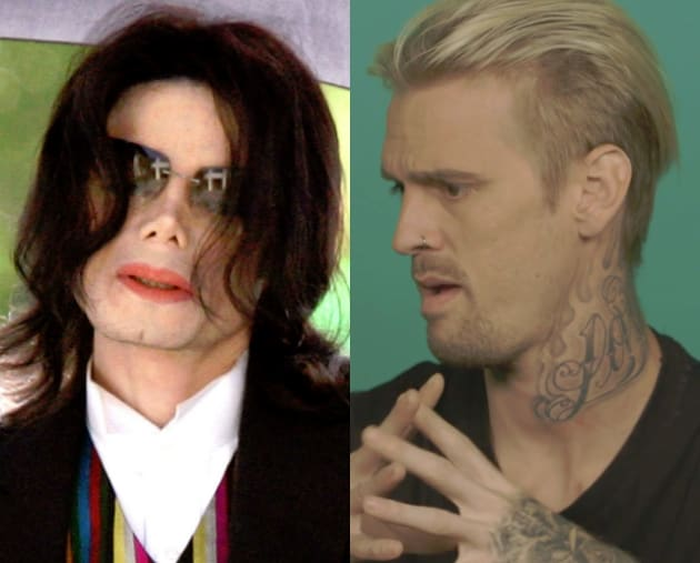"Aaron Carter Accuses Michael Jackson of Something ""Inappropriate"""