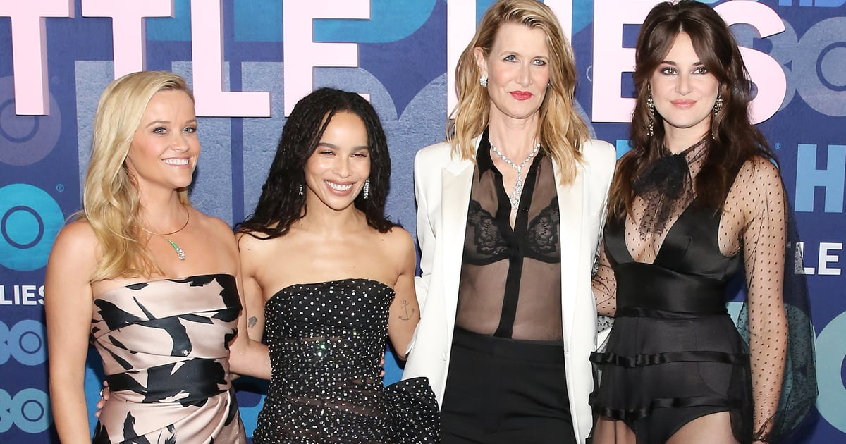 The Big Little Lies Cast Went All Sheer on the Red Carpet —Excuse Me as I Pick My Jaw Up Off the Floor