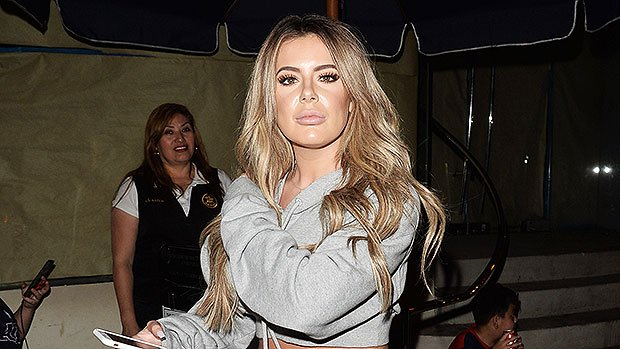 Brielle Biermann Rocks Skimpy Red Lingerie & Shows Off Pink Hair Makeover In Sexy Video