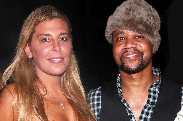 Cuba Gooding Jr., Claudine De Niro still going strong