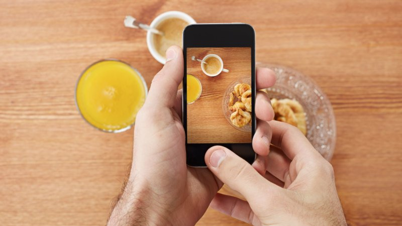 In the Instagram age, if it's not worth sharing, it's not worth eating