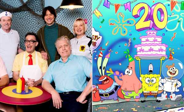 A 'SpongeBob SquarePants' Live-Action Anniversary Special Is Coming Soon