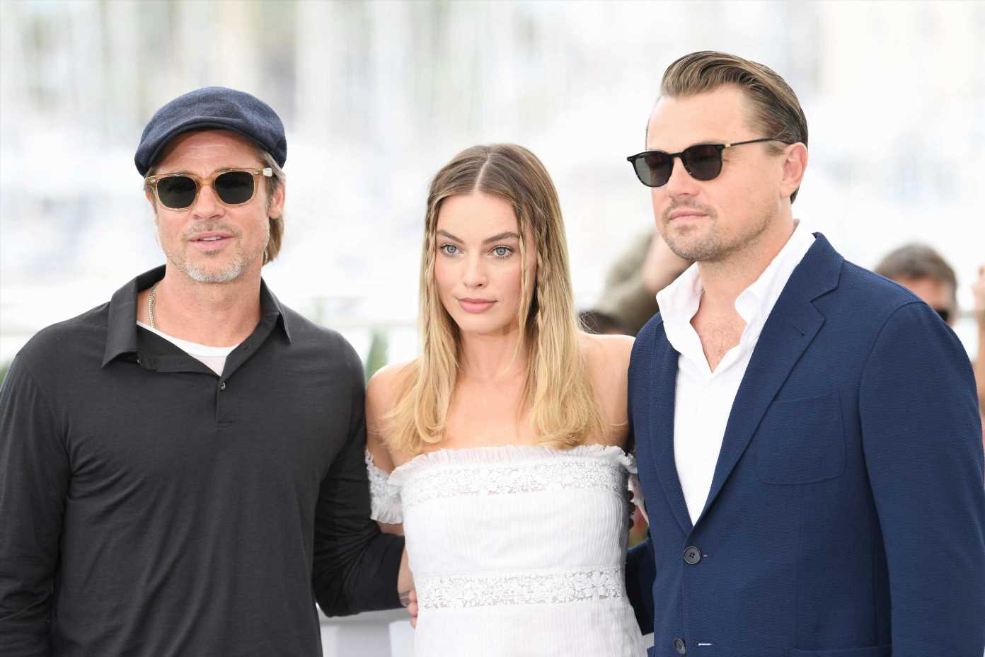 Brad Pitt and Leonardo DiCaprio's bromance takes over Cannes