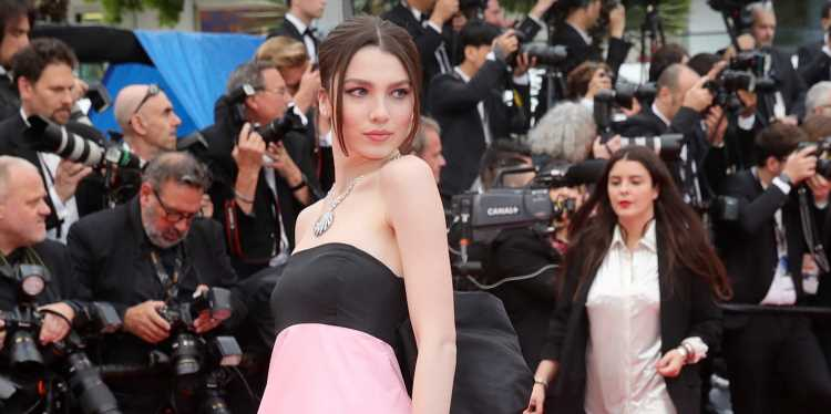 Maya Henry Stuns on the Red Carpet at Cannes!