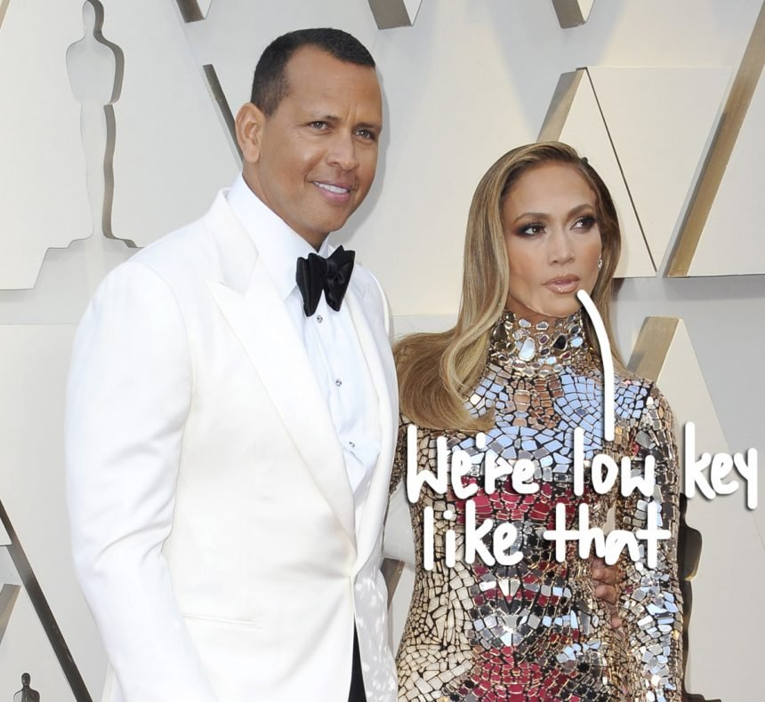Jennifer Lopez & Alex Rodriguez Are Probably 'Not Doing A Huge Wedding' — Get The Deets