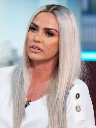 Katie Price accused of photoshopping her tiny waist after surgery