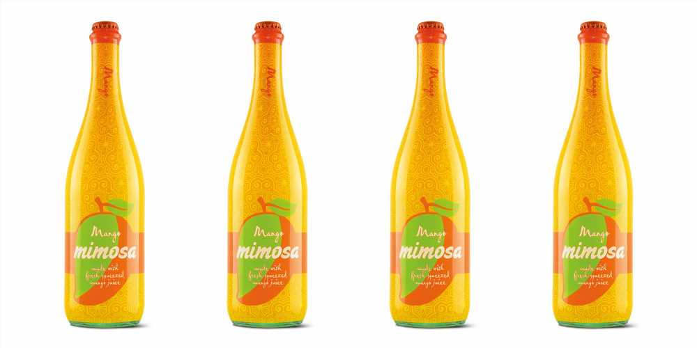 Aldi's Next Bottled Mimosa Is Mango Flavored and It Only Costs $9