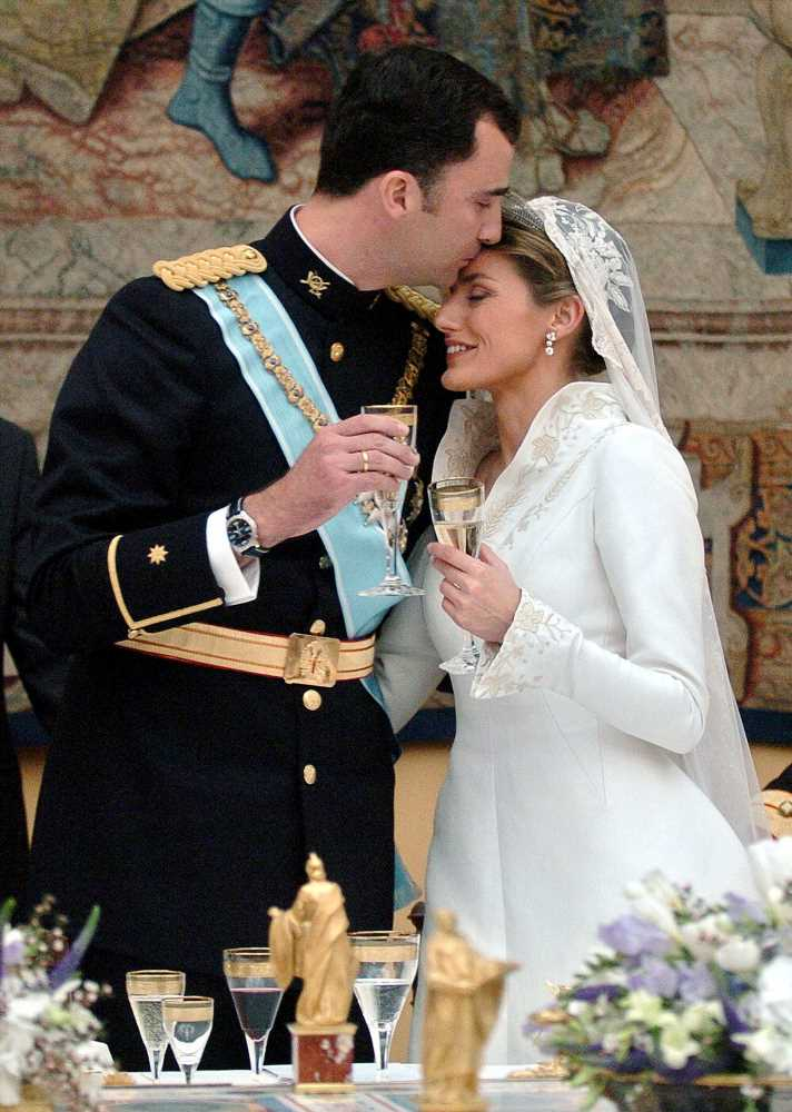 Happy 15th Anniversary, Queen Letizia and King Felipe! The Best Photos from Their Extravagant Royal Wedding