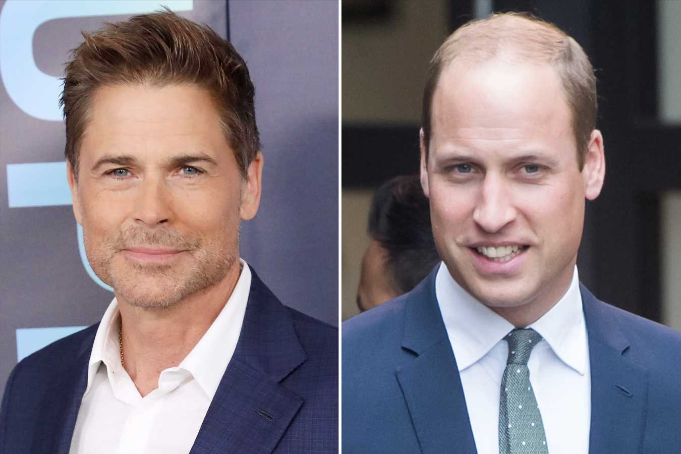 Rob Lowe Says Watching Prince William Lose His Hair Was a 'Traumatic Experience'