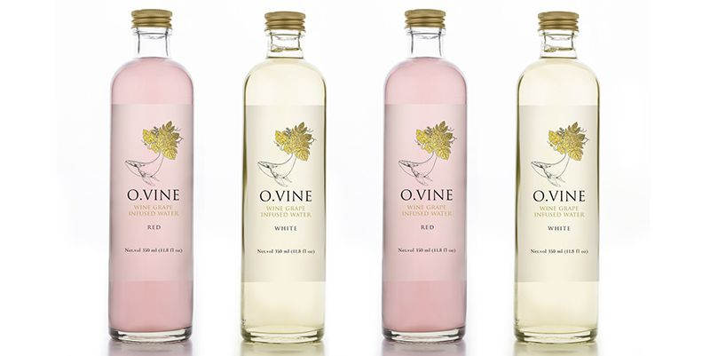 Wine Water Now Exists Just in Time for Hot Summer Days