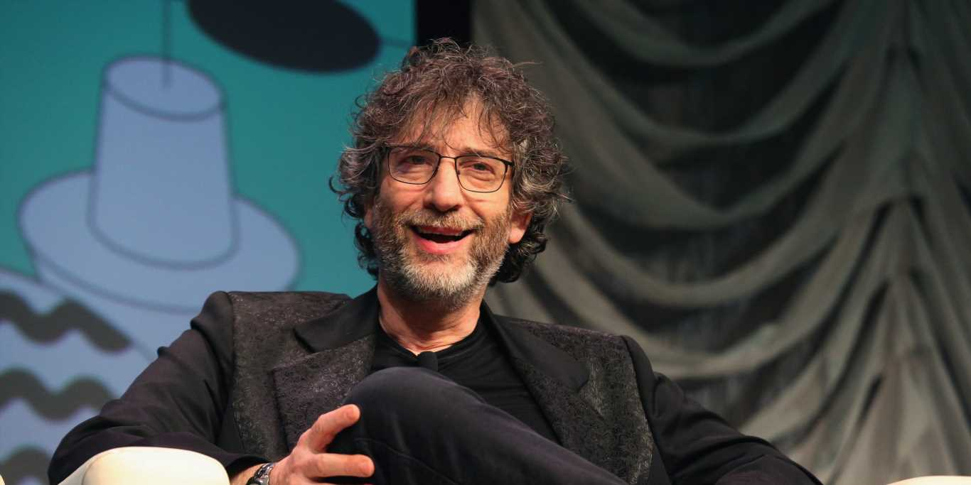 'Good Omens' author and showrunner Neil Gaiman explains why TV's fantasy and sci-fi 'gold rush' is just getting started