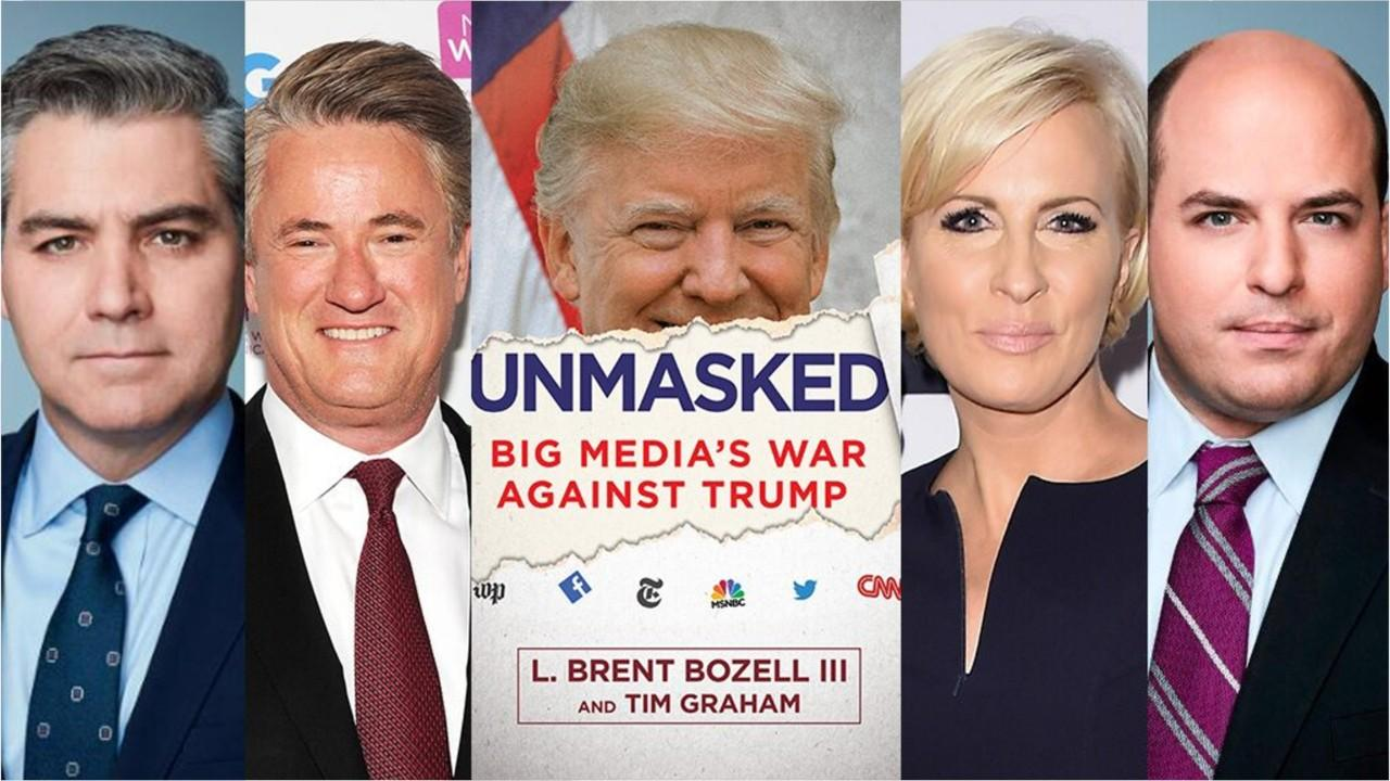 'Unmasked' book ranks media members who hate President Trump the most, from Jim Acosta to Mika Brzezinski