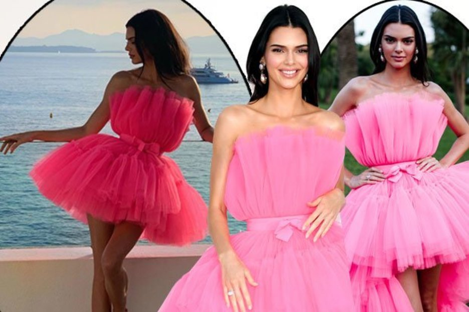Kendall Jenner H&M dress: KUWTK star wears incredible pink dress from high-street store