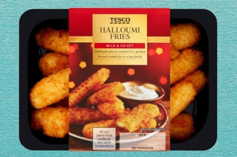 Tesco relaunches its best-selling halloumi fries – and this time they're permanent