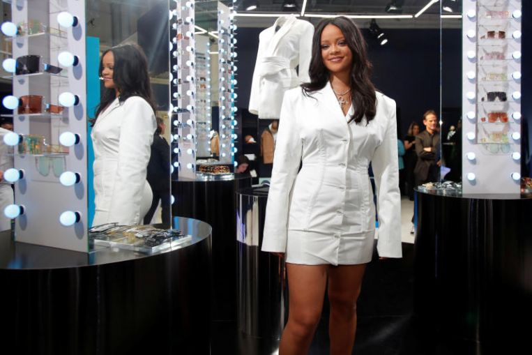 Rihanna thanks luxury giant LVMH for giving her full control to design clothes