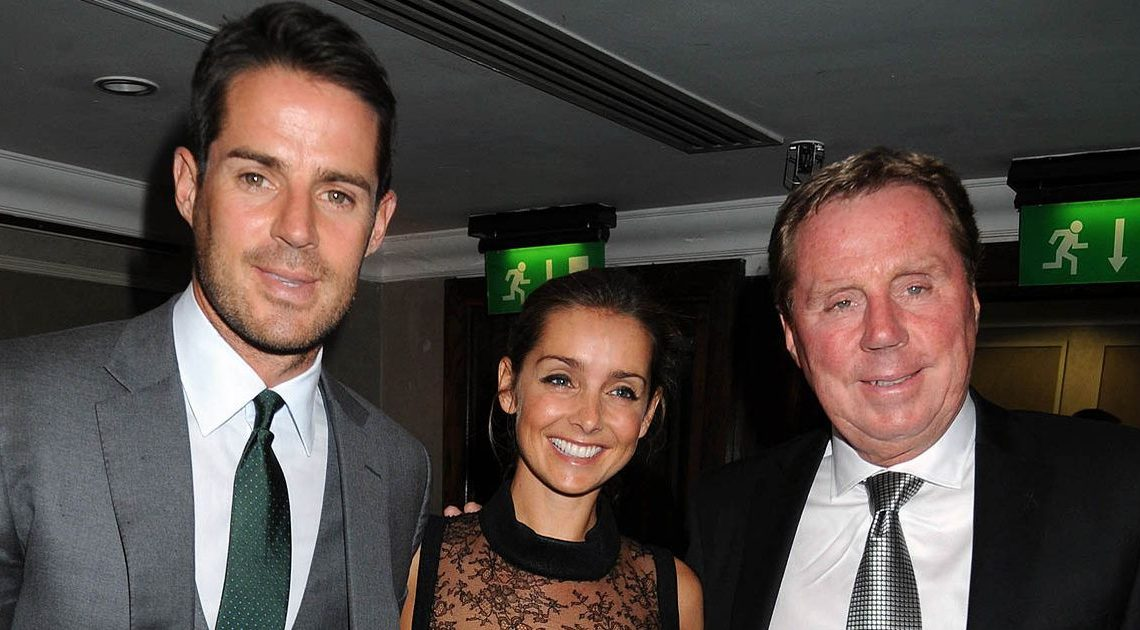 Harry Redknapp admits he didn't see son Jamie and his wife Louise's split coming