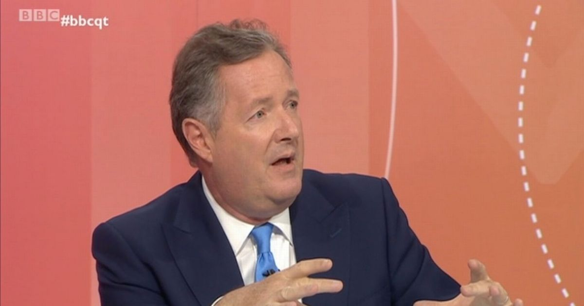 Primary school tweets 'Piers Morgan is a fascist pig' after Question Time