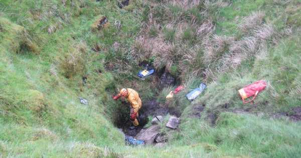 Man who died after falling 20ft in cave and getting trapped for 17 hours named