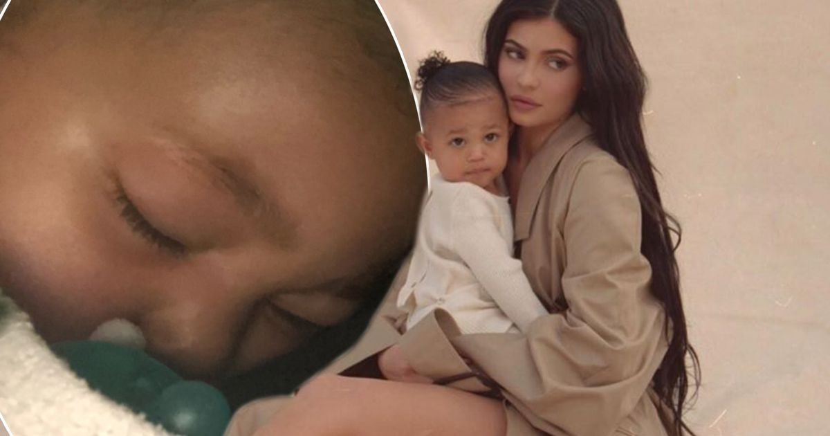 Kylie Jenner reveals her one year old daughter Stormi was hospitalised over the weekend