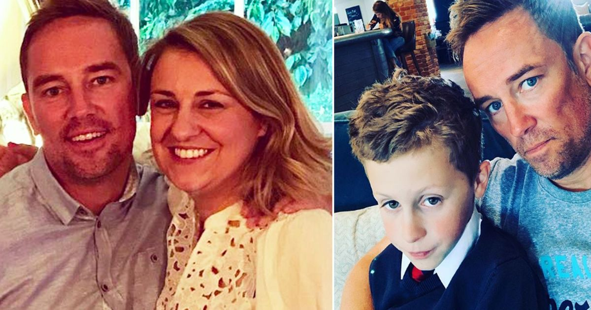 Simon Thomas describes heartbreaking moment he told 9 year old son 'mummy has died'