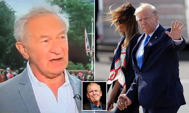 JAN MOIR: TV luvvies luxuriated in the warm balm of Trump hate