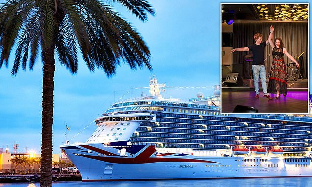 Amanda Platell joins a Strictly cruise and is swept off her feet