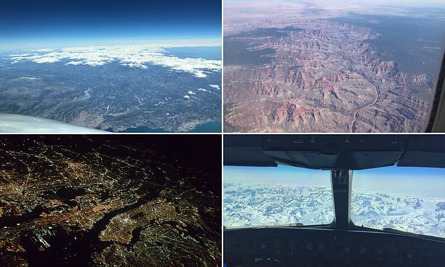 Pilots reveal their favourite scenic views from the cockpit