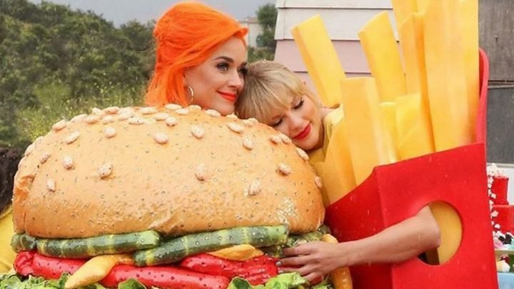 Taylor Swift and Katy Perry prove they're friends again in new music video