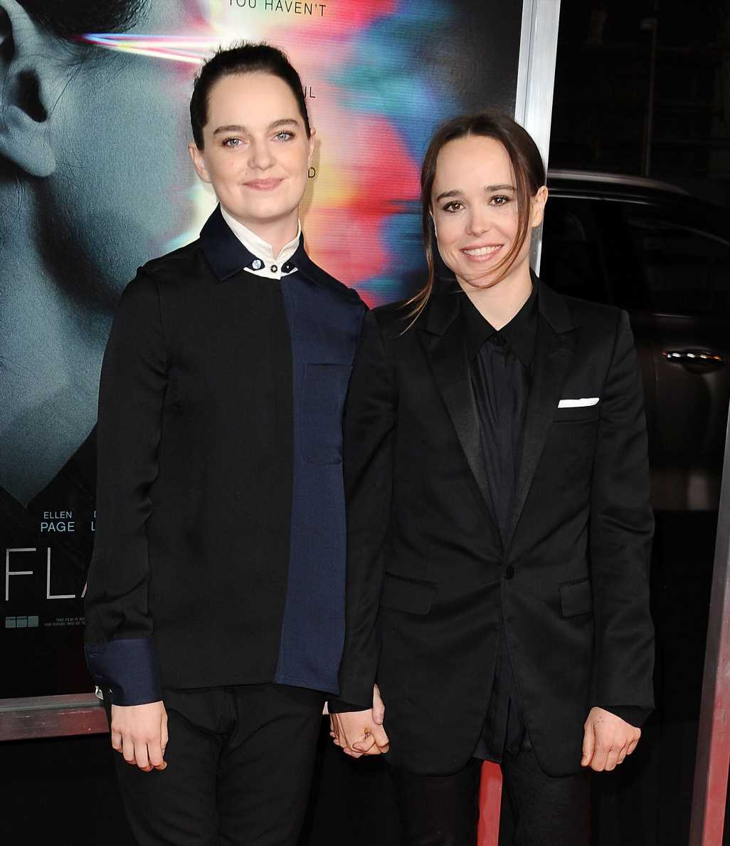 Ellen Page And Wife Emma Portner Go Artfully Topless To Celebrate Pride Month