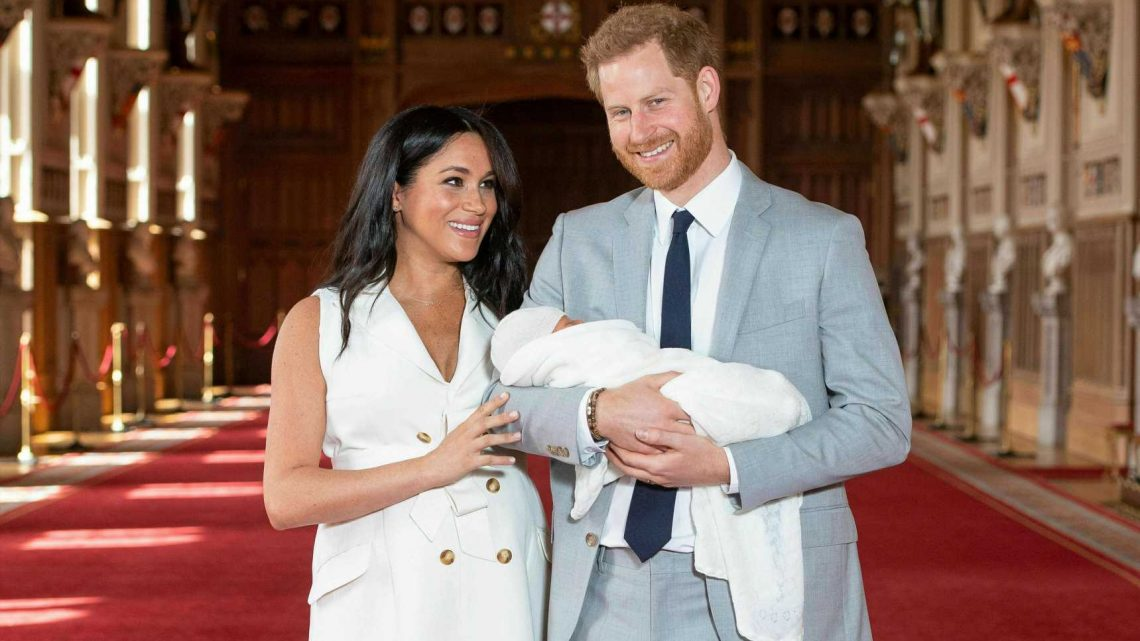 Prince Harry Shares Adorable New Photo Of Baby Archie On First Father's Day