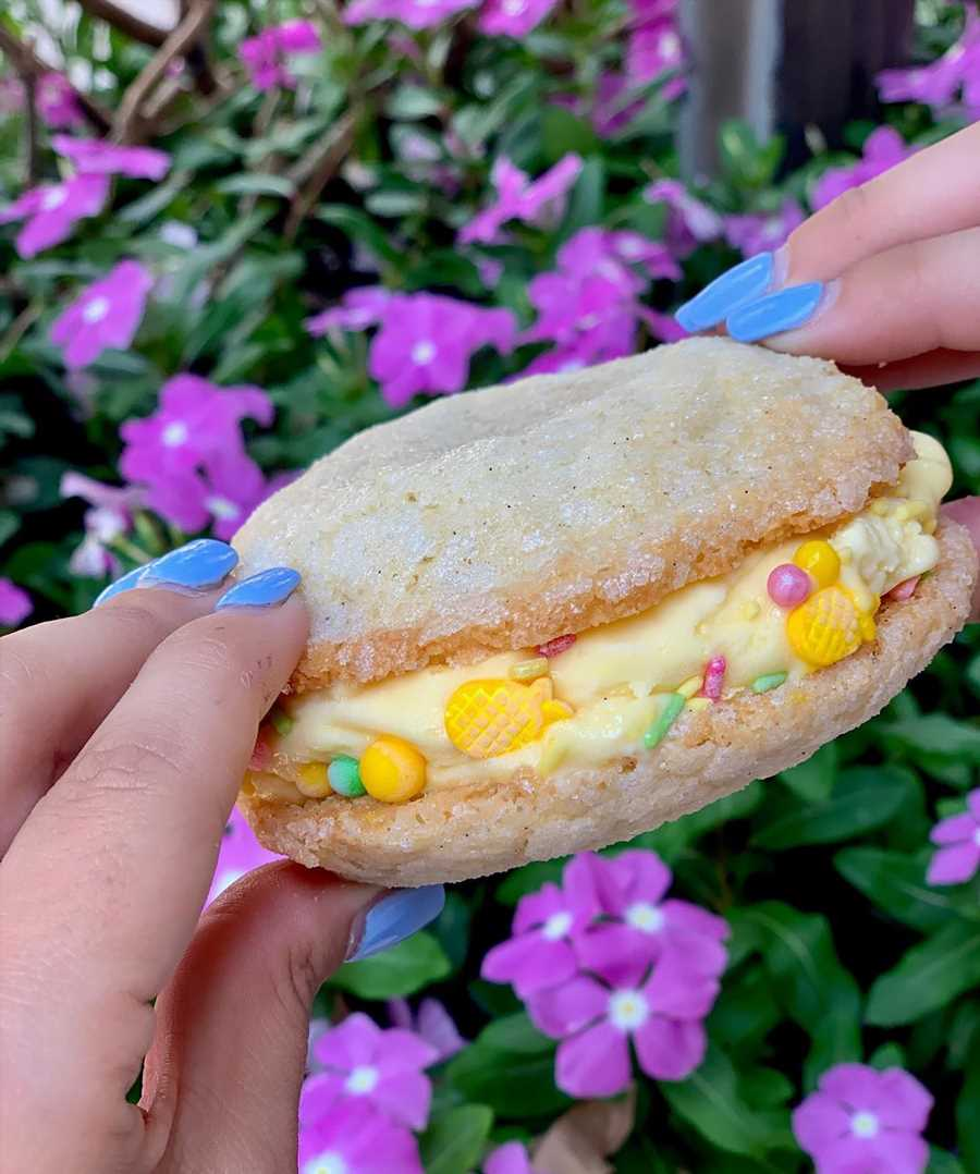 There's a Boozy, Dole Whip-Inspired Cookie Coming to Walt Disney World's Disney Springs This Summer