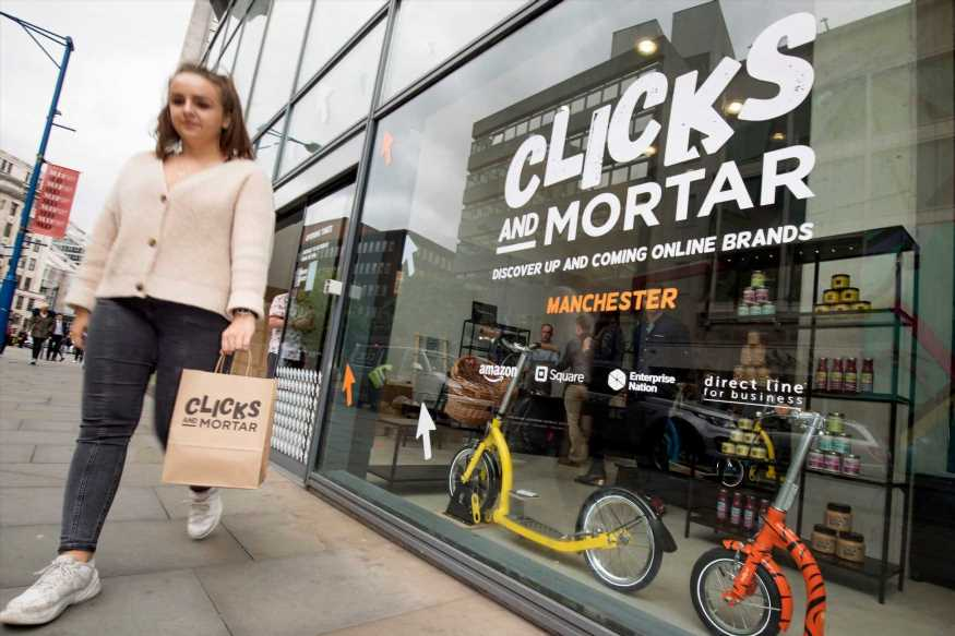 Amazon Clicks and Mortar pop-up shops to put small businesses on high street – The Sun