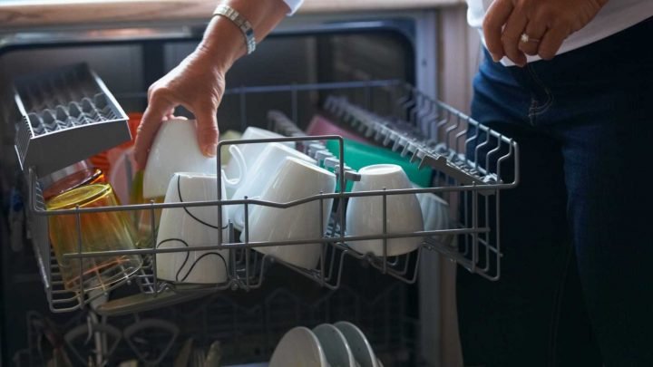 Woman claims putting your dishwasher tablets in the cutlery drawer cleans more effectively – The Sun