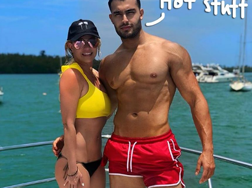 Britney Spears Shares Hot Vacay Pics With Her 'Protector' & 'Amor' Sam Asghari!