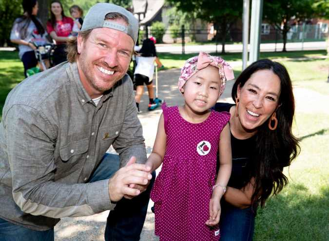 Chip and Joanna Gaines Present $1.5 Million Donation and Build a Custom Playhouse for St. Jude Children's Hospital