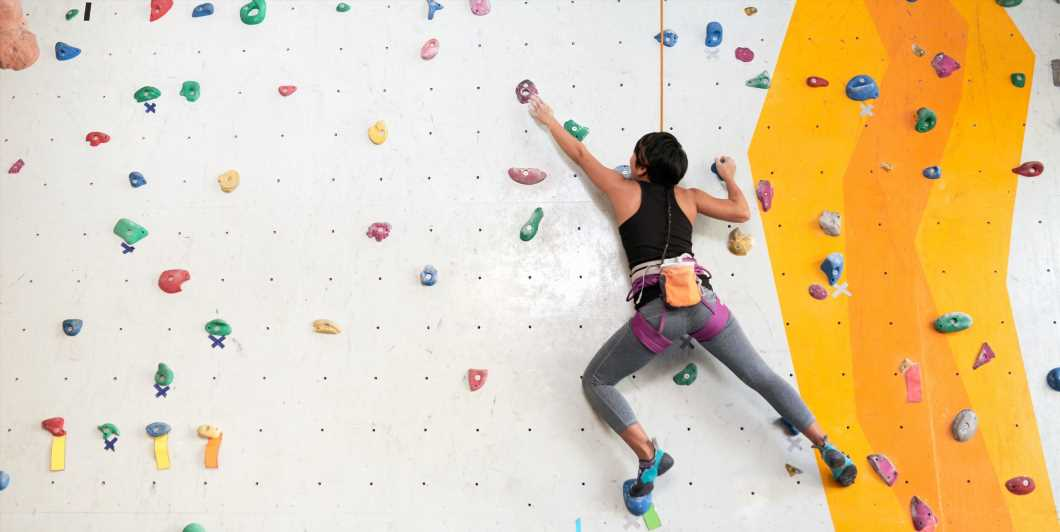 Master These Strength-Building Moves To Make Your Next Rock-Climbing Workout Way Easier