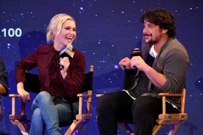 The 100's Eliza Taylor and Bob Morley reveal they got married