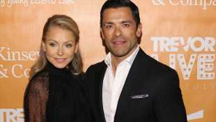 Kelly Ripa & Mark Consuelos Stun At TrevorLIVE Gala After Daughter Catches Them Having Sex