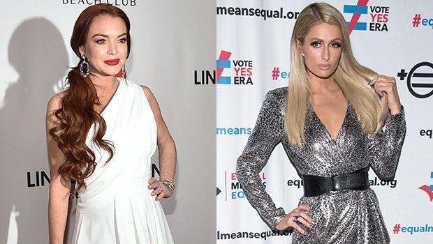 Lindsay Lohan Reacts To Rumors Of A Feud With Former Bestie Paris Hilton